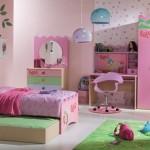 çift yakalı kız çocuk odası tasarımları 2013 modelleri