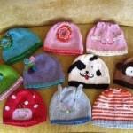 örgü bebek şapka modelleri