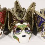 üçlü duvara asılabilen maske hediyelik eşya modeli