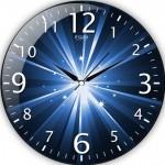 ışıklı duvar saati modeli