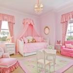 şirin pembe renkli 2013 kız çocuk odası modelleri çeşitleri