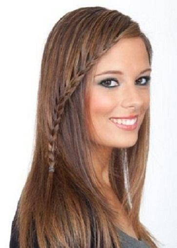 2013 genç kız örgü saç modeli