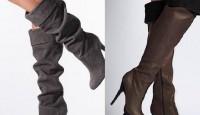 Uzun Modern Görünümlü Çizme Modelleri