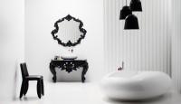 Modern Tarz Siyah Beyaz Banyolar