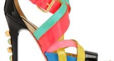 Bayan Renkli Ayakkabı Modelleri