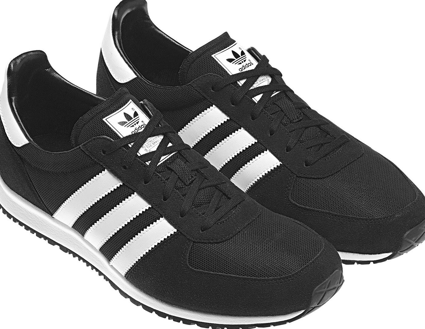 Siyah Samua Adidas Spor Ayakkab Modeli Erkek Ayakkabi Modelleri
