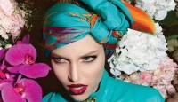 Yazlık Bayan Eşarp Modelleri