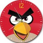 angry birds kızgın kuşlar dekoratif duvar saat modeli