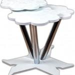 beyaz renkli bulut şekilli 2013 zigon sehpa modeli