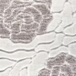beyaz vizon renkli gül desenli bahariye halı örnekleri 2013 çeşitleri