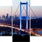 boğaz köprü temalı kanvas tablo modeli