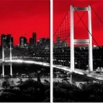 boğaz köprüsü kanvas tablo örneği 2013 modeli