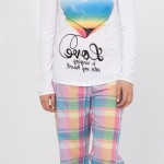 ekoseli kalpli kışlık yeni lc waikiki bayan pijama takımı modeli