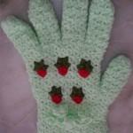eldiven desenli çeyizlik lif modelleri