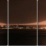 istanbul boğaz köprüsü manzarlı kanvas tablo modeli