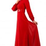 kırmızı 2012 2013 Armine Abiye Modeli