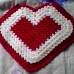 kırmızı kalp desenli 2013 çeyizlik lif modeli