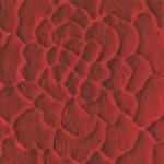 kırmızı renkli 3d'li sanat halı modeli