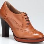 kahve renkli myria hotiç bayan ayakkabı modeli