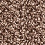 kahve renkli yaprak desenli dinarsu halı örnekleri