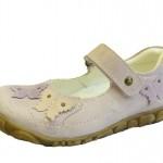 kelebekli kız çocuk ayakkabı modeli