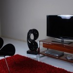 metal ayaklı tv lcd sehpa modeli