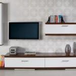 modern  2013 lcd tv ünite sehpa modeli