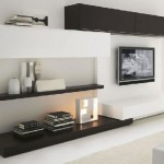 modern duvar tv ünite sehpa modeli