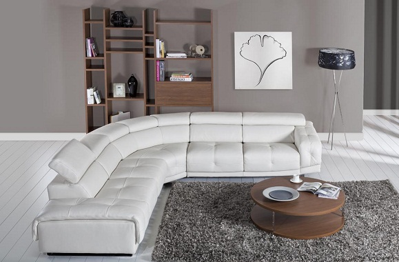 muhteşem beyaz renkli yumuşak deri 2013 köşe koltuk takımı modeli