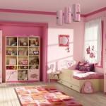muhteşem prensesli atlı şato desenli kız çocuk odası modelleri