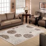 muhurlu kabartmalı sanat halı modeli