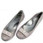 panço füme renkli kız çocuk ayakkabı modeli
