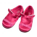 panço fuşya renkli kız çocuk ayakkabı modeli