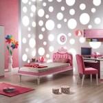 pembe başlıklı yeni tasarımlı kız çocuk odası modelleri