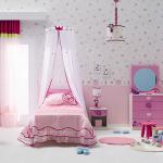 pembe renkli çilek kız çocuk odası tasarımları 2013 yeni modelleri
