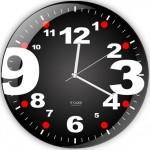 süper rakamlı dekoratif duvar saat modeli