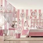 süper yeni italyan sitiline sahip kız çocuk odası tasarımları çeşitleri modelleri