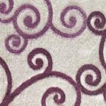 sarmasıklı malta sanat halı modeli