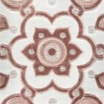 somon vizon renkli çiçek desenli bahariye halı modelleri çeşitleri