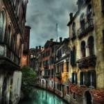 venedik manzaralı kanvas tablo örnekleri modeli